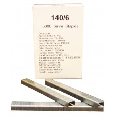 140/6 SIFCO® 6mm x 5000 Galvanised Staples