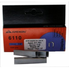 6110 APEXON 10mm Galvanised Staple