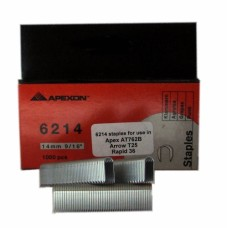 6214 APEXON 14mm Galvanised Staple