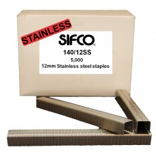 140/12SS SIFCO® 12mm x 5000 Stainless Staple