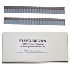 F15M0(10M)BROWN SIFCO® 15mm Galvanised Brad