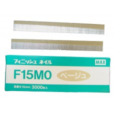 F15M0-BEIGE MAX® 15mm Galvanised Brad