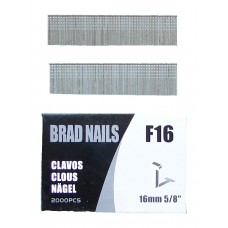 F16 SIFCO® 16mm Galvanised Brad