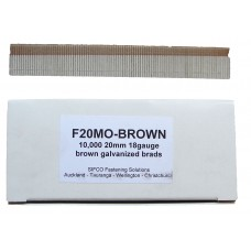 F20M0(10M)BROWN SIFCO® 20mm Galvanised Brad