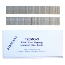 F20M0(5M)-S SIFCO® 20mm Stainless Brad