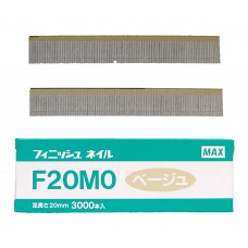 F20M0-BEIGE MAX® 20mm Galvanised Brad