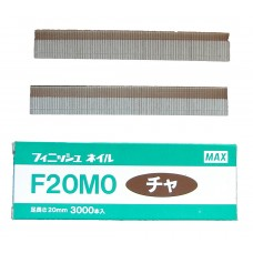 F20M0-BROWN MAX® 20mm Galvanised Brad