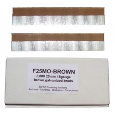 F25M0(5M)BROWN SIFCO® 25mm Galvanised Brad