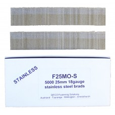 F25M0(5M)-S SIFCO® 25mm Stainless Brad
