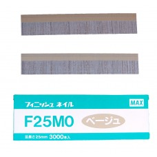 F25M0-BEIGE MAX® 25mm Galvanised Brad