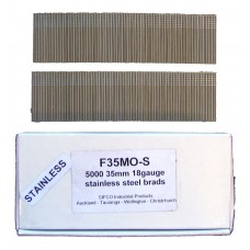 F35M0(5M)-S SIFCO® 35mm Stainless Brad