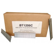 BT1206C SIFCO® 22mm 16 Gauge Galvanised Brad