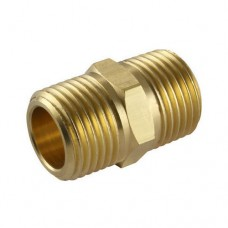 10683, SIFCO® Double Male Brass Nipple 10mm to 10mm Air Fitting