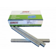 1408CE OMER® 8mm Galvanised Upholstery Staple