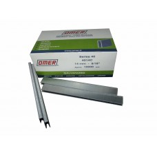 4014-10M OMER® 14mm Galvanised Staple  for Maestri® ME4000 staplers