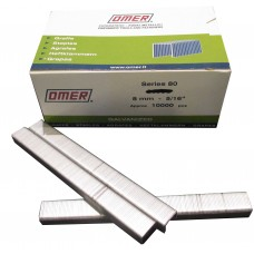 80/8CE OMER® 8mm Galvanised Staple