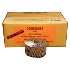 C50R280SS SIFCO® 50mm Stainless Ring Shank Coil Nails