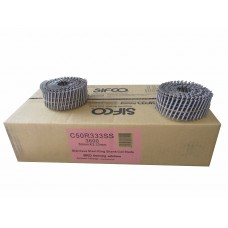 C50R333SS SIFCO® 50mm x 3.33mm Stainless Ring Shank Coil Nails