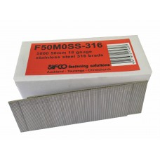 F50M0SS-316 SIFCO® 45mm 18Ga Stainless 316 Brad