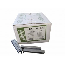 S4/20 OMER® 20mm Galvanised Staple for use in SIFCO TSN16951 & Bostitch 750S4 Air Stapler