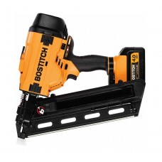 BCF28WWM1 BOSTITCH™ 28 Degree 20volt Cordless Battery Framing Nailer Kit