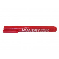 NON-DRY RED DONG-A Permanent Marker Pen