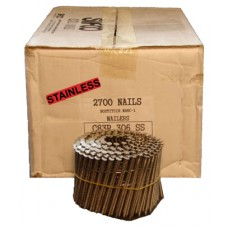 C83R306SS SIFCO® 83mm Stainless Ring Shank Coil Nails