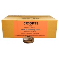 CR3DRSS SIFCO® 32mm Stainless Ring Shank Roofing Nails
