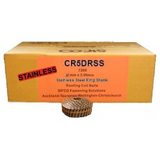 CR5DRSS SIFCO® 45mm Stainless Ring Shank Roofing Nails