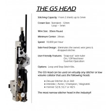 G5HD251/2, DELUXE Stitching Head