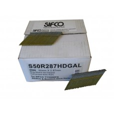 S50R287HDGAL SIFCO® 50mm Hot Dip Galvanised Ring Shank Stick Nail