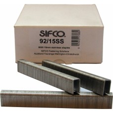 92/15SS OMER® 15mm Stainless Staple for use in OMER® 92.25, 92.38 & 90.38B Air Staplers