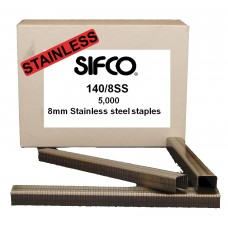 140/8SS SIFCO® 8mm x 5000 Stainless Staple