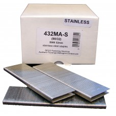 432MA-S SIFCO® 32mm Stainless Staple for use in FASCO® F20A90-40, OMER® 90.32 & 90.38B Air Staplers