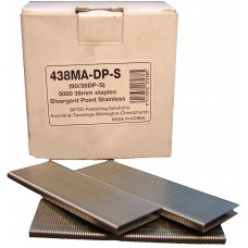 438MA-DP-S SIFCO® 38mm Stainless Staple for use in FASCO® F20A90-40, OMER® 90.38B Air Staplers
