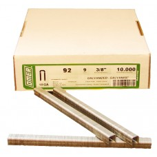 92/9 OMER® 9mm Galvanised Staple for use in OMER® 92.25 Air Staplers
