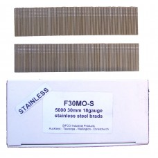 F30M0(5M)-S SIFCO® 30mm Stainless Brad