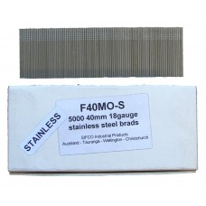 F40M0(5M)-S SIFCO® 40mm Stainless Brad