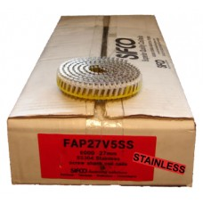 FAP27V5SS SIFCO® 27mm Stainless Hardened Steel Penetrating Nails