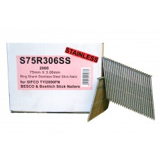 S75R306SS SIFCO® 75mm Stainless Nail