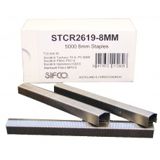 STCR2619-8MM SIFCO® 8mm Galvanised Staple for Bostitch P6C-6 pliers