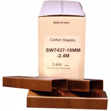 SW7437-18MM OMER® 18mm Carton Staple for use in SIFCO® HAA7437, AA7437, CAB7437, CAS7437, CMB7437 & CAB7437 Carton Staplers
