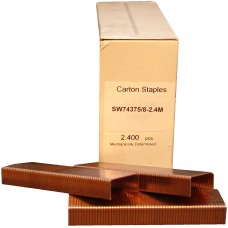SW74375/8-2.4M OMER® 15mm Carton Staple for use in SIFCO® HAA7437, AA7437, CAB7437, CAS7437, CMB7437 & CAB7437 Carton Staplers