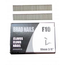 F10 SIFCO® 10mm Galvanised Brads